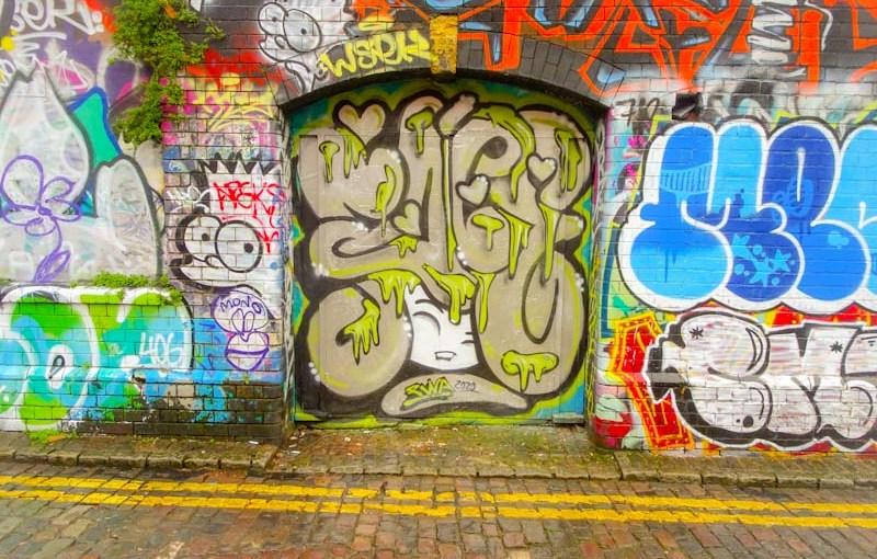 Face 1st, Moon Street, Bristol, February 2020