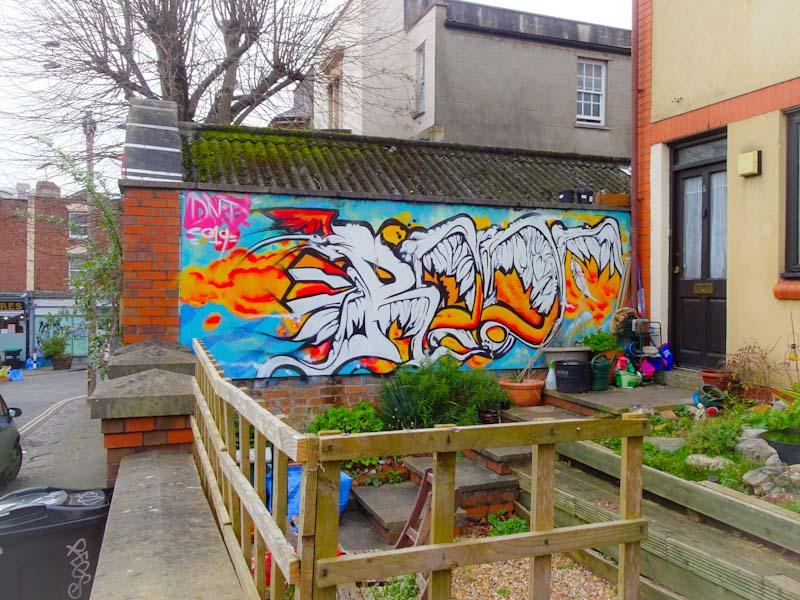 DNT, Richmond Road, Bristol, February 2020