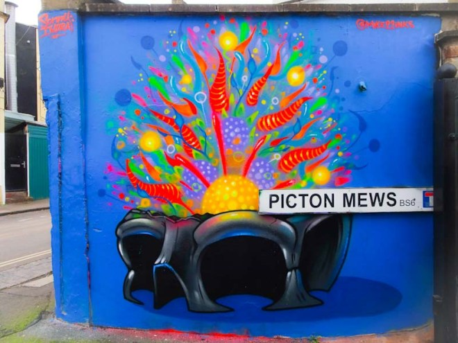 3Dom, Picton Mews, Bristol, February 2020
