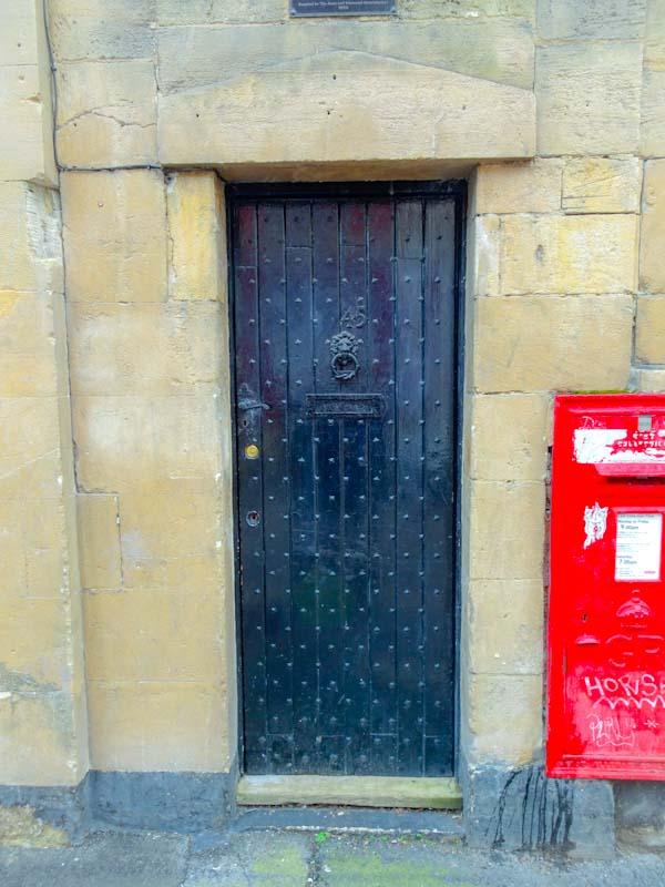 Charley Box door, Montpelier, Bristol, February 2020
