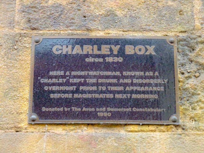 Charley Box plaque, Montpelier, Bristol, February 2020