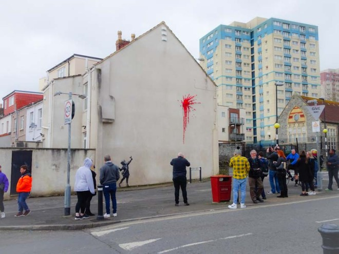 Banksy, Marsh Lane, Bristol, February 2020