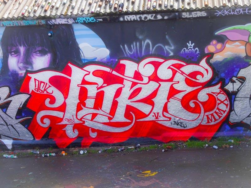 Inkie, Dean Lane, Bristol, March 2020