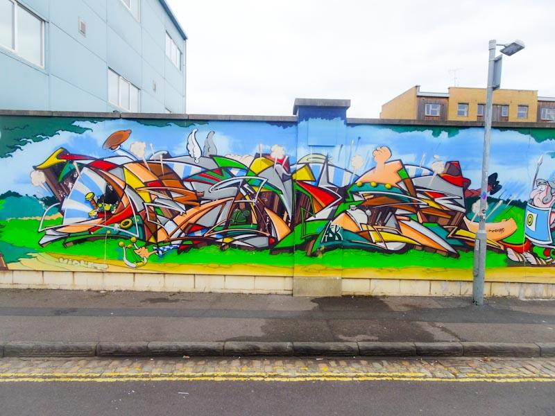 Deamze, Waterloo Street, Bristol, October 2018