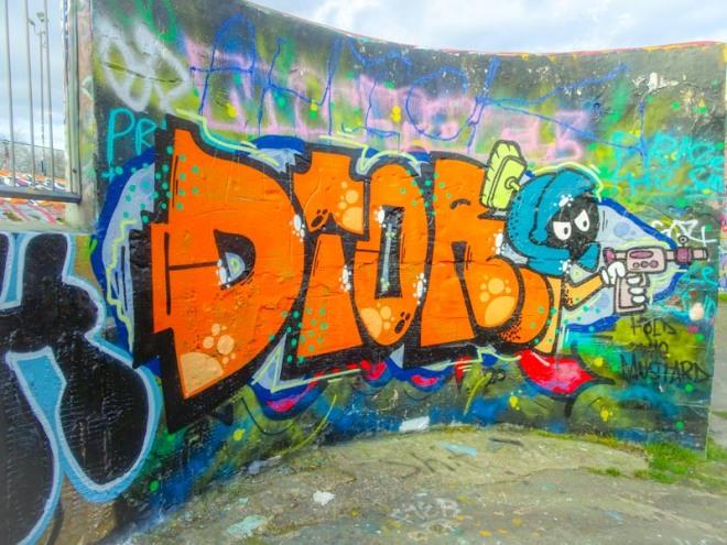 Dtok, Dean Lane, Bristol, March 2020