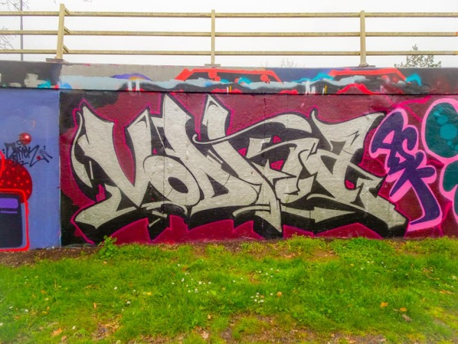 Soker, M32 roundabout, Bristol, March 2020