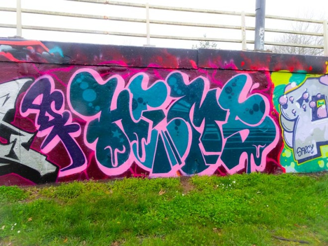 Hemper, M32 roundabout, Bristol, March 2020