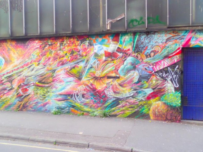 Tom Miller, Surrey Street, Bristol, October 2016