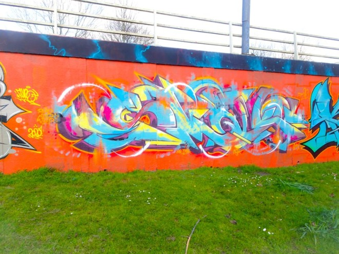 Smak, M32 roundabout, Bristol, April 2020