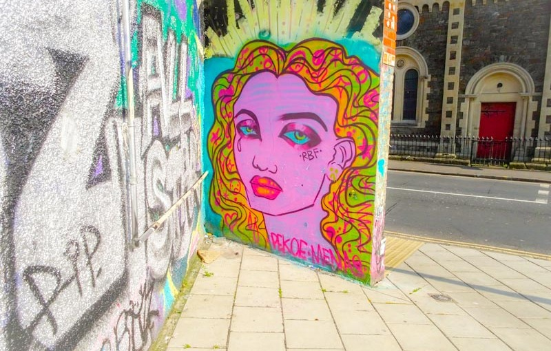 Pekoe, Stokes Croft, Bristol, April 2020