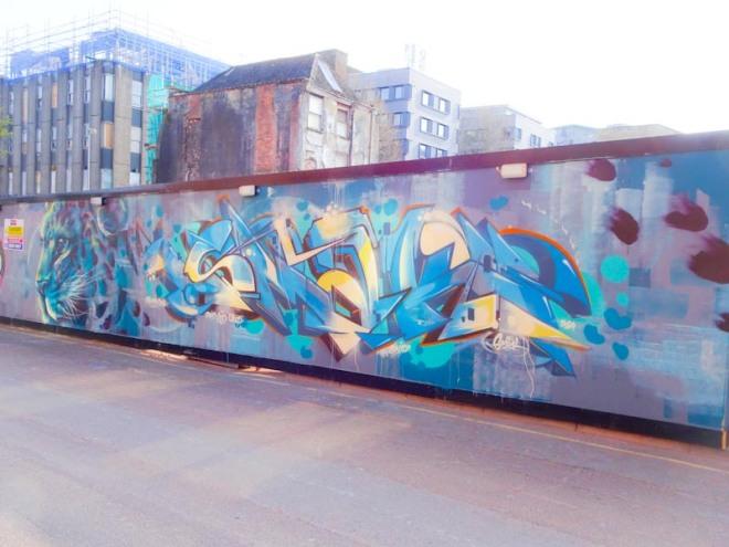 Hazard and Smak, Upper York Street, Bristol, April 2020