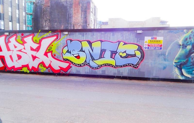 Bnie, Upper York Street, Bristol, April 2020