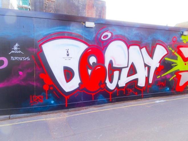 Decay, Upper York Street, Bristol, April 2020