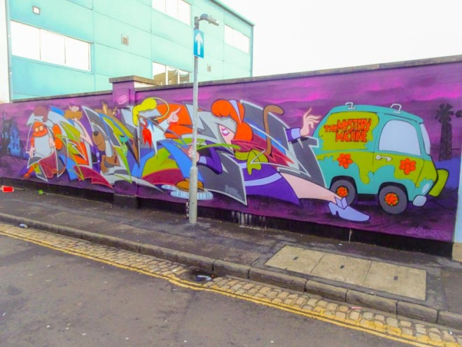 Deamze, Waterloo Street, Bristol, January 2019