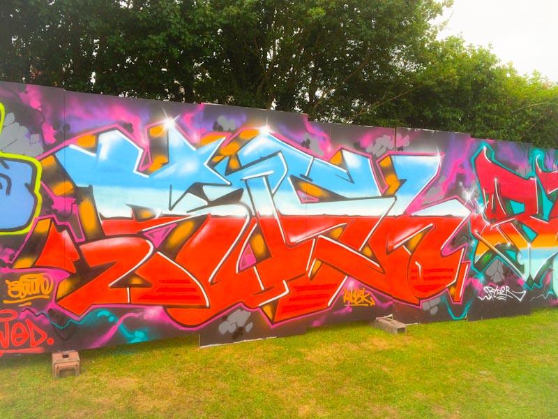 Rusk, Upfest 2016, Bristol, July 2016