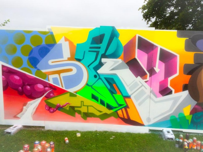 SkyHigh, Upfest 2016, Bristol, July 2016