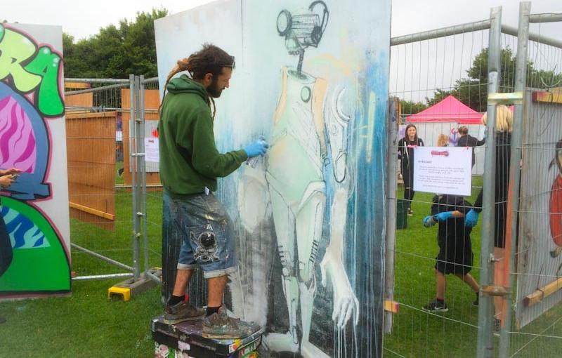 Feoflip, Upfest 2016, Bristol, July 2016