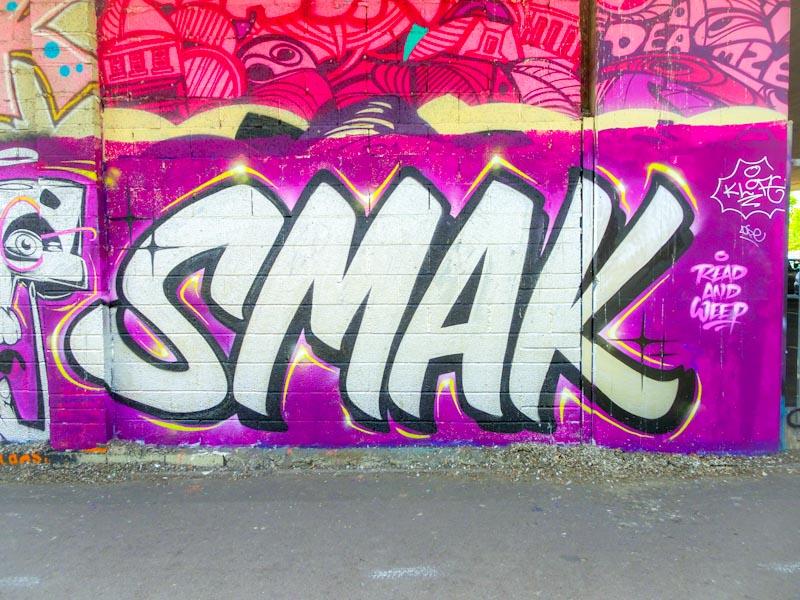 Smak, M32 cycle path, Bristol, May 2018