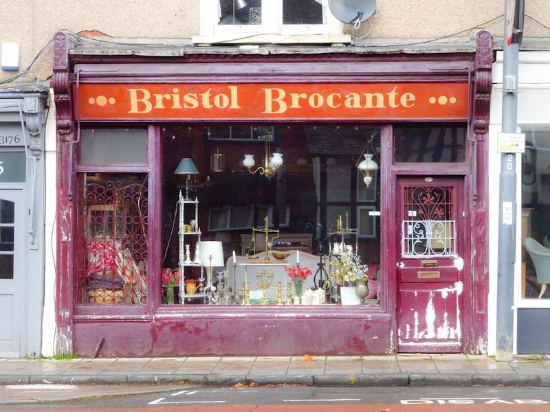 Shop door, Anchor Road, Bristol, November 2019