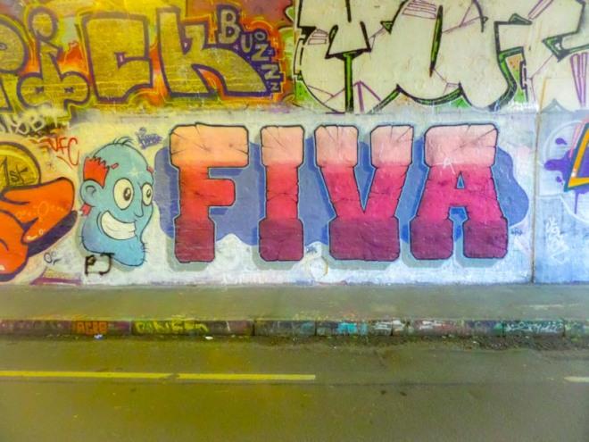 Fiva, St Werburghs, Bristol, March 2017
