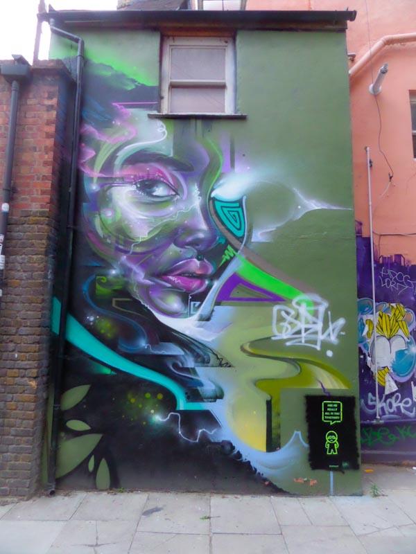 Mr Cenz, Shoreditch, London, August 2016