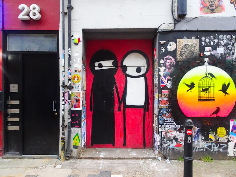 Stik, Shoreditch, London, November 2018