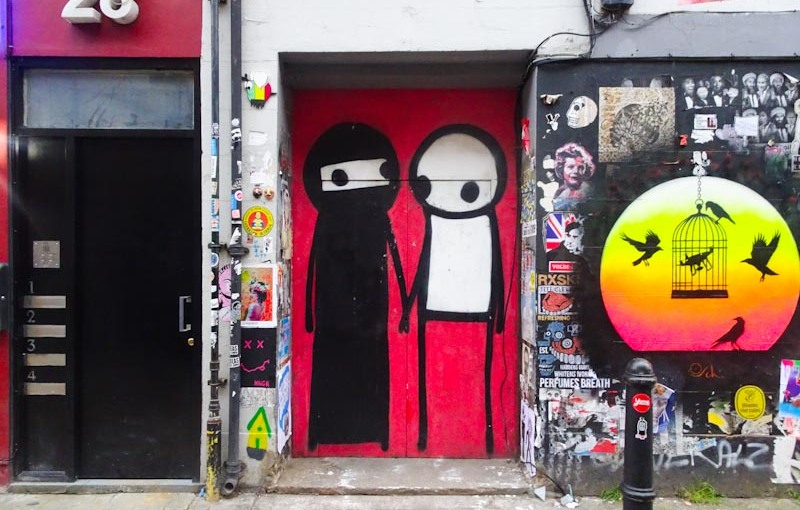 Stik, Shoreditch, London, November 2018