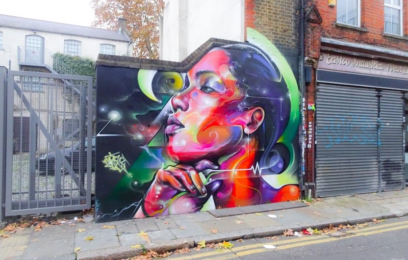 Mr Cenz, Shoreditch, London, November 2018