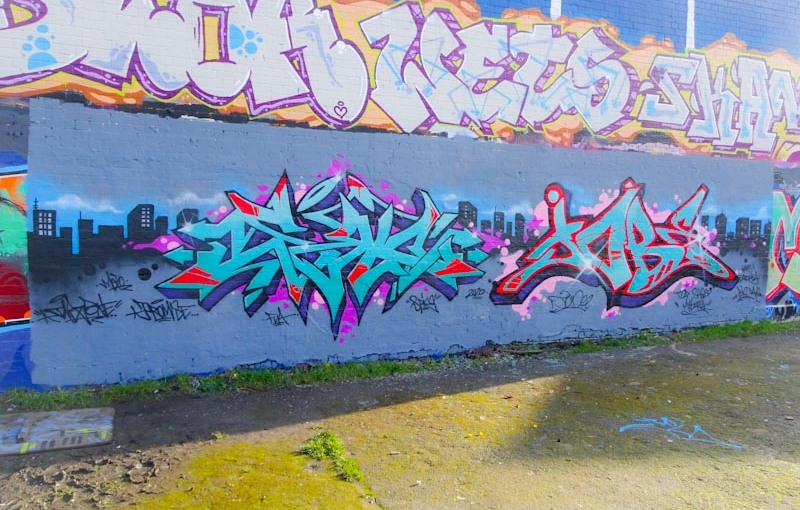 Dibz and Shade One, Dean Lane, Bristol, March 2020
