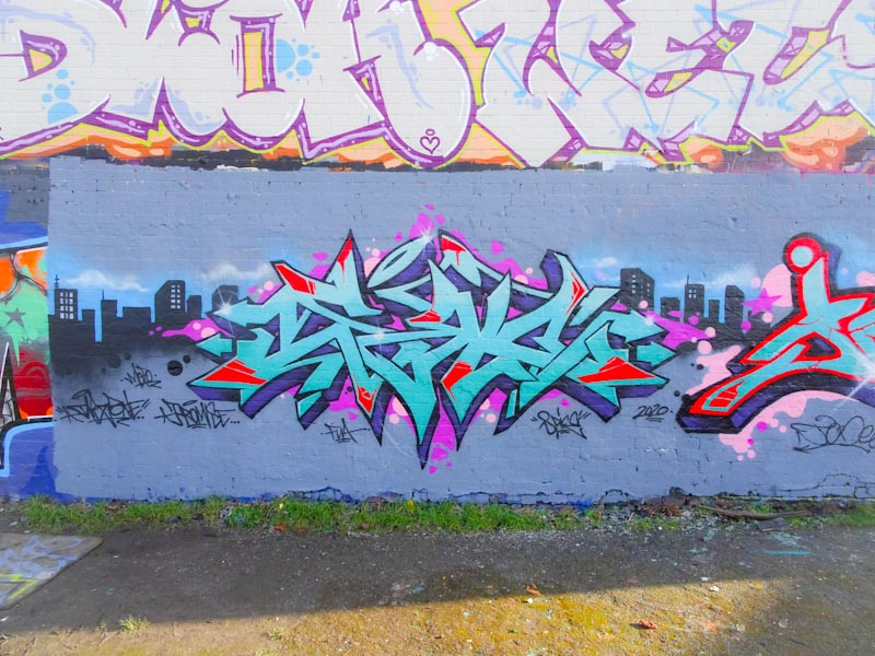 Dibz, Dean Lane, Bristol, March 2020