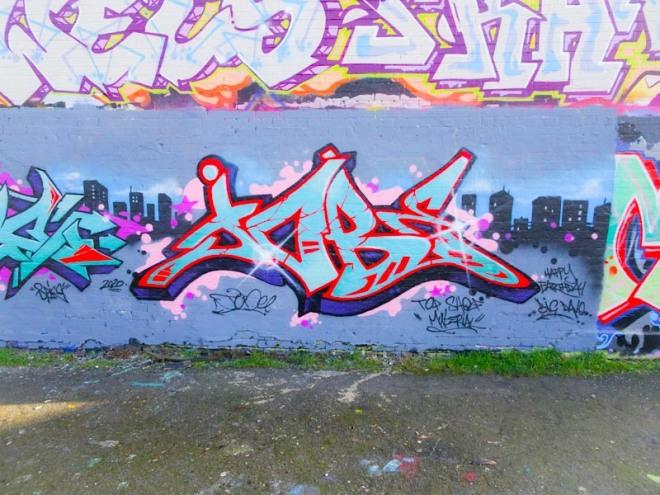 Shade One, Dean Lane, Bristol, March 2020
