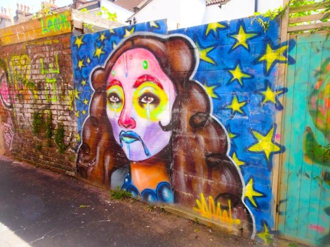 Rosalita, St Mark's Avenue, Bristol, July 2020
