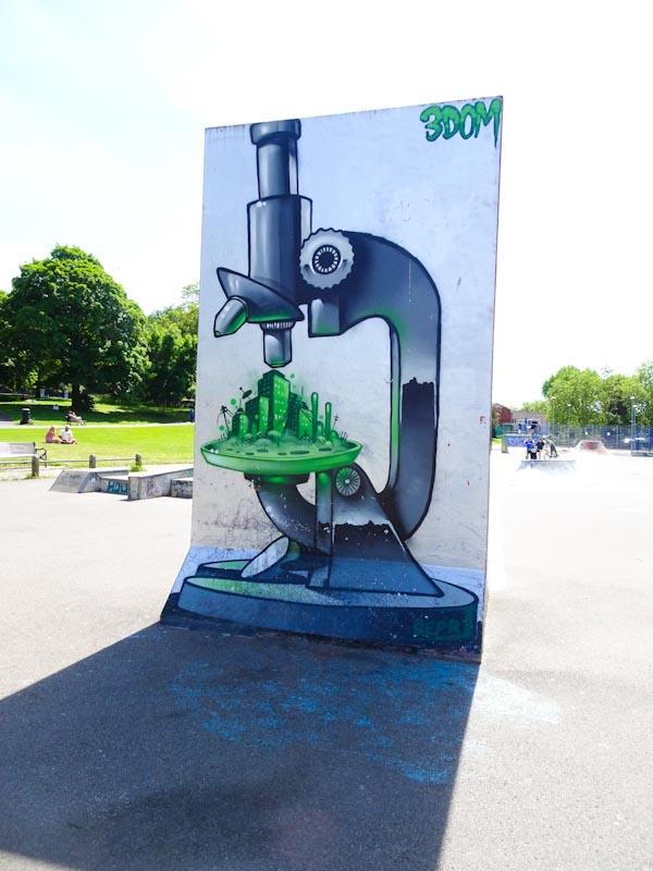 3Dom, St George skate park, Bristol, May 2020