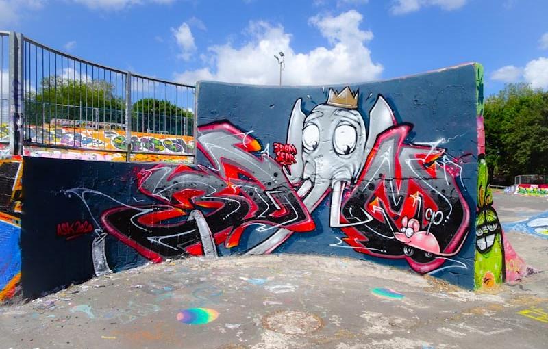 2985. Dean Lane skate park(321)