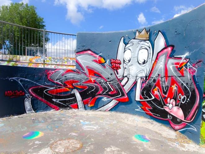3Dom and Sepr, Dean Lane, Bristol, June 2020