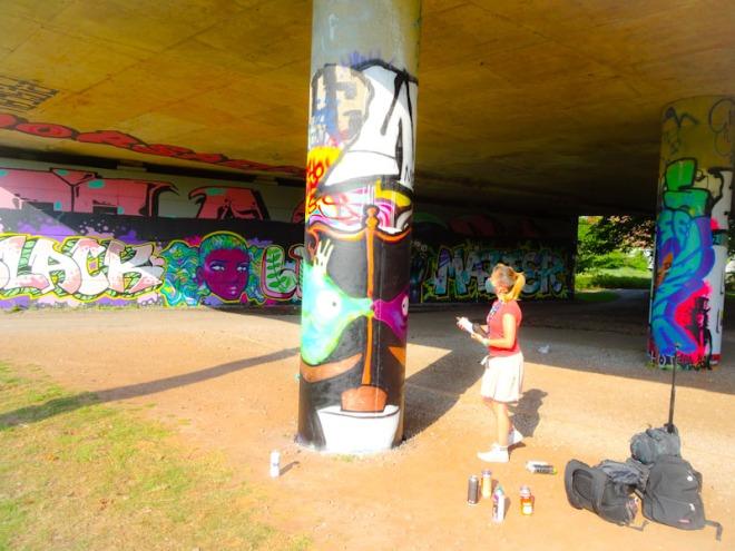 Skor85, Brunel Way, Bristol, June 2020