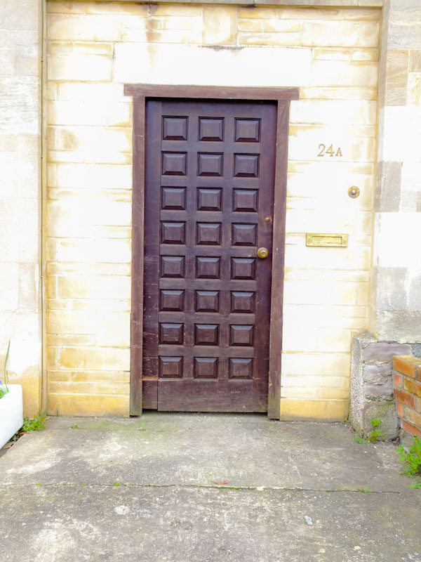 Fancy pants door, Montpelier, Bristol, March 2020