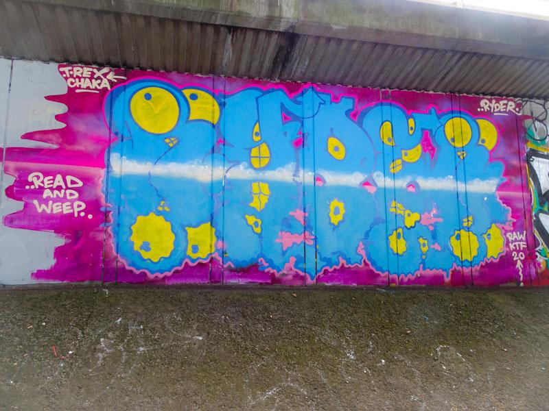 Ryder, Frome side, Bristol, June 2020