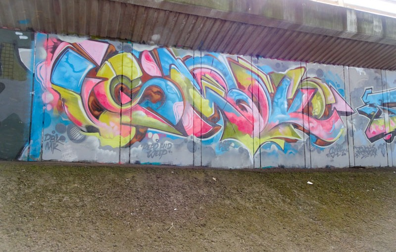 Smak, Frome side, Bristol, June 2020