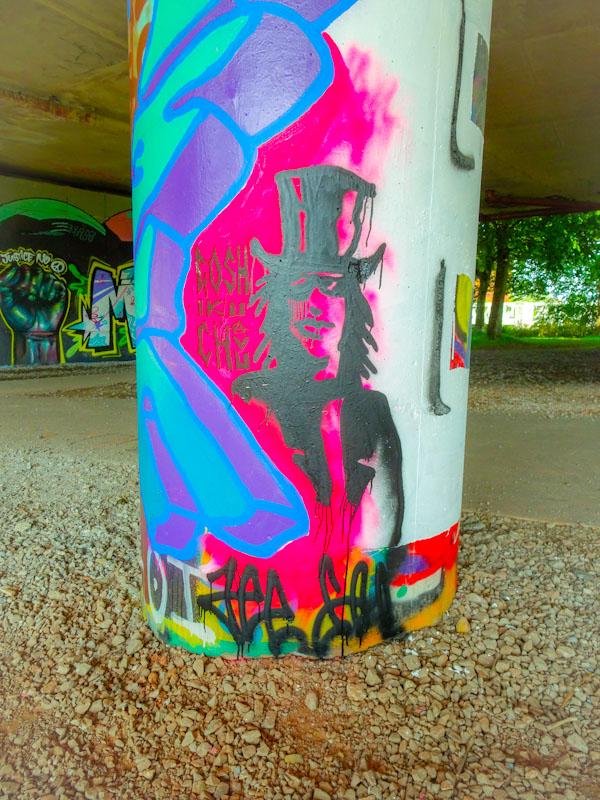 Jee See, Brunel Way, Bristol, June 2020