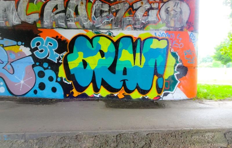 Mr Draws, Brunel Way, Bristol, June 2020