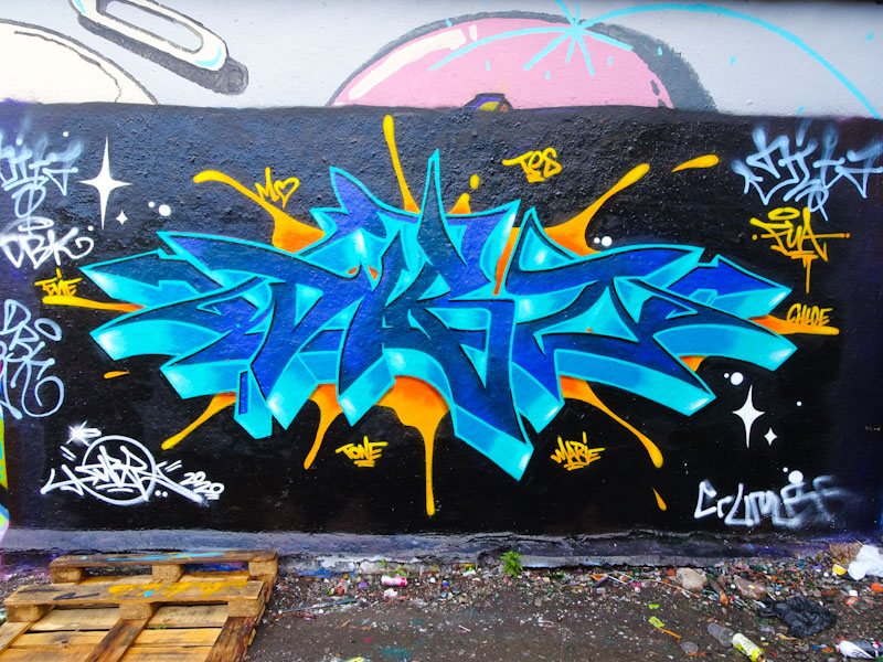 Dibz, Dean Lane, Bristol, June 2020