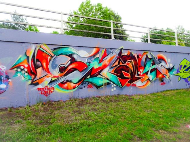 Smak, M32 roundabout, Bristol, June 2020