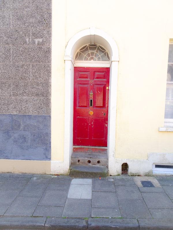 A smart front door with boot scraper, Montpelier, Bristol, May 2020
