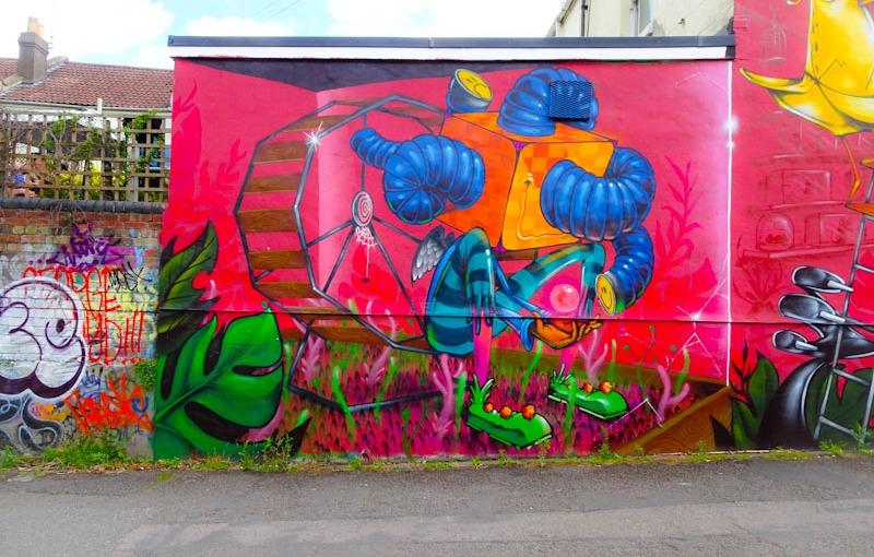 3Dom, Cowmead Walk, Bristol, July 2020