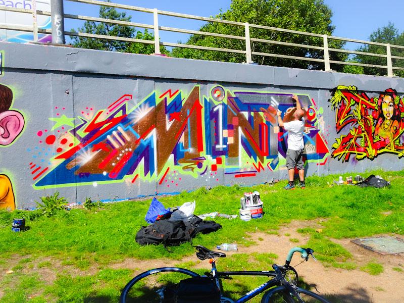 Minto, M32 roundabout, Bristol, July 2020