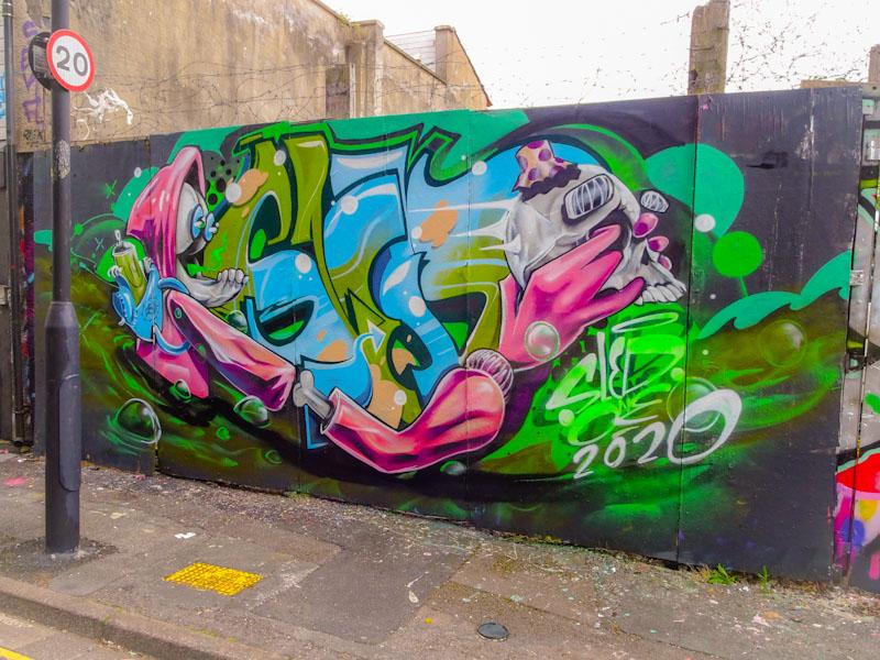 Sled One, Armada Place, Bristol, July 2020