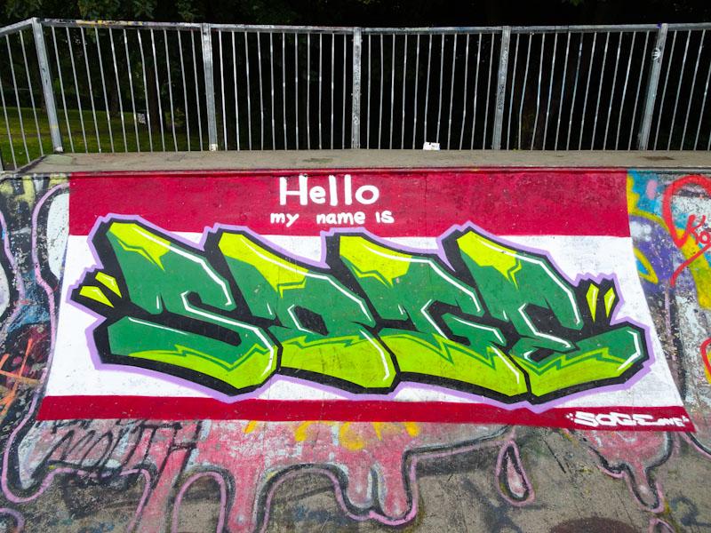Soge, Dean Lane, Bristol, June 2020