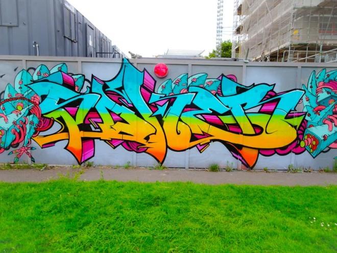 Soker, North Street, Bristol, July 2020