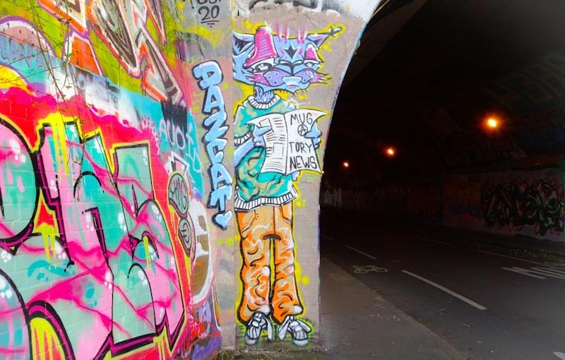 DazCat, St Werburghs, Bristol, August 2020